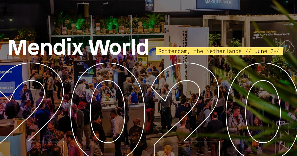 Meld je aan voor Mendix World