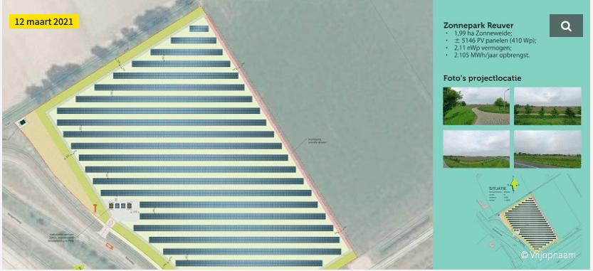 Vrijopnaam gaat 5.146 zonnepanelen plaatsen langs A73 bij Beesel
